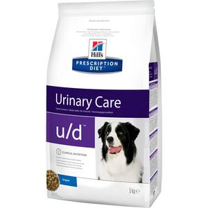 Сухой корм Hill's Prescription Diet u/d Canine Non-Struvite Urinary Tract Health диета при лечении МКБ и почек для собак 5кг (4378) консервы hill s prescription diet s d canine urinary dissolution диета при лечении мкб для собак 370г 8015