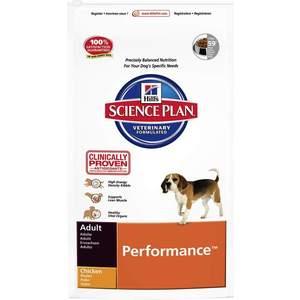 Сухой корм Hills Science Plan Performance Adult with Chicken высококалорийный с курицей для активных собак 12кг (7569)