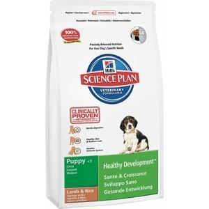 Сухой корм Hills Science Plan Puppy Healthy Development Medium with Lamb & Rice с ягненком и рисом для щенков средних пород 1кг (5225)