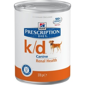 Консервы Hill's Prescription Diet k/d Kidney Care with Chicken с курицей диета при лечении заболеваний почек и МКБ для собак 370г (8010) недорого