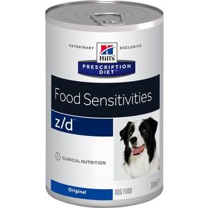 Консервы Hills Prescription Diet z/d Food Sensitivities Original диета при лечении пищевых аллергий для собак 370г (8018)