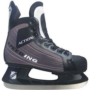 Коньки хоккейные Action PW-216DN р. 44 цена