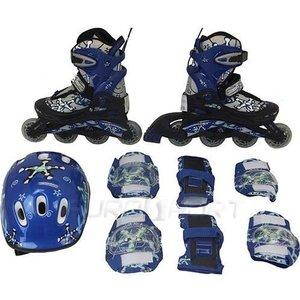 Роликовый набор Action PW-780 (коньки ролик, защита, шлем) р. 26-29
