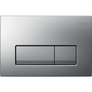 Кнопка смыва Geberit Delta 51 матовый хром (115.105.46.1)