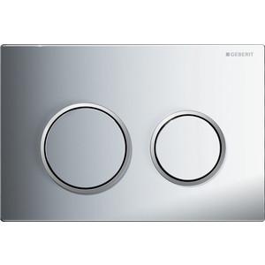 Кнопка смыва Geberit Omega 20 хром/матовый хром (115.085.KH.1)