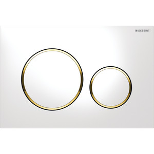 Кнопка смыва Geberit Sigma 20 белый/золото (115.882.KK.1) geberit sigma 10 115 758 kk 5 белый золото