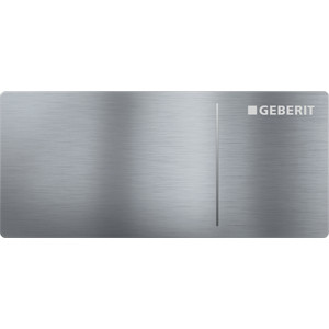 Кнопка смыва Geberit Sigma 70 нержавеющая сталь, матовая (115.630.FW.1) кнопка смыва geberit sigma 70 115 635 fw 1