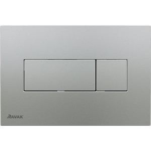Кнопка смыва Ravak Uni (X01456) сатин
