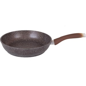 Сковорода d 22 см Kukmara Мраморная (смк227а Кофейный мрамор) сковорода d 24 см kukmara мраморная смс241а светлый мрамор