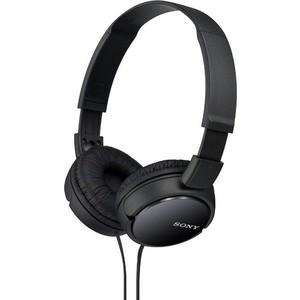 Наушники Sony MDR-ZX110 black sony sony mdr zx110