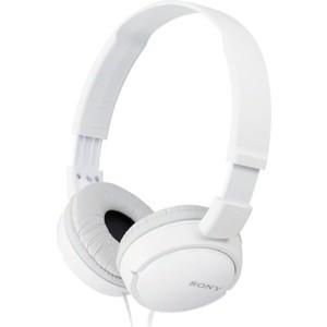 Наушники Sony MDR-ZX110 white цена и фото
