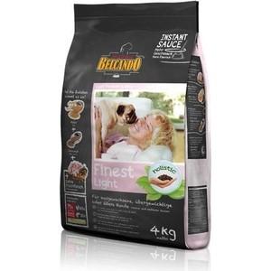 Сухой корм Belcando Finest Light для собак склонных к лишнему весу или пожилых собак мелких и средних пород 4кг (553715)