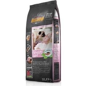 Сухой корм Belcando Finest Light для собак склонных к лишнему весу или пожилых собак мелких и средних пород 12,5кг (553725)
