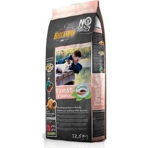 Сухой корм Belcando Finest Grain-Free Salmon беззерновой с лососем для собак мелких и средних пород 12,5кг (554725)