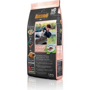 Сухой корм Belcando Finest Grain-Free Salmon беззерновой с лососем для собак мелких и средних пород 1кг (554705)