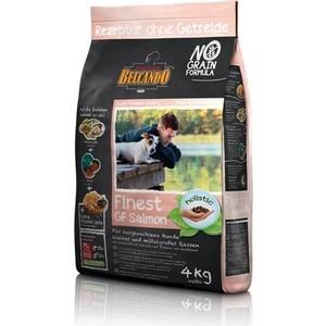 Сухой корм Belcando Finest Grain-Free Salmon беззерновой с лососем для собак мелких и средних пород 4кг (554715)