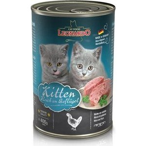 Консервы Leonardo Quality Selection Kitten Rich In Poultry с птицей для котят 400г (756249)