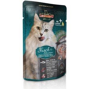Паучи Leonardo Finest Selection Fish & Shrimp с рыбой и креветками для кошек 85г (756335)