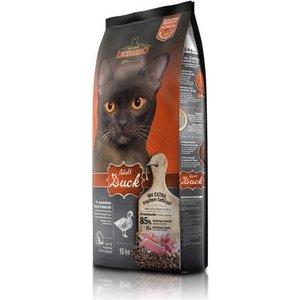 Сухой корм Leonardo Adult Duck с уткой для здоровья кожи и шерсти кошек 15кг (758335/755425)