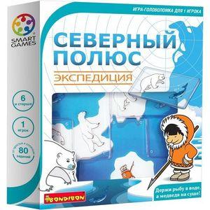 Bondibon Логическая игра Северный полюс. Экспедиция (ВВ1881) фото