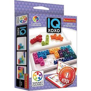 Bondibon Логическая игра IQ ХоХо (ВВ1889) bondibon логическая игра охотники и привидения вв1886