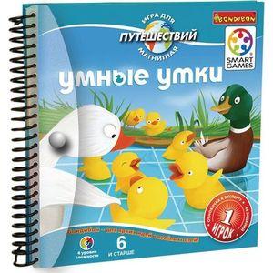 Bondibon Магнитная игра для путешествий, Умные утки (ВВ1891)