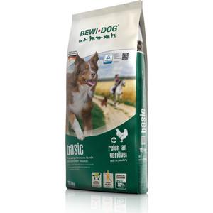 Сухой корм Bewi Dog Basic Rich in Poultry с птицей для взрослых собак нормальным уровнем активности 12,5кг (509325)
