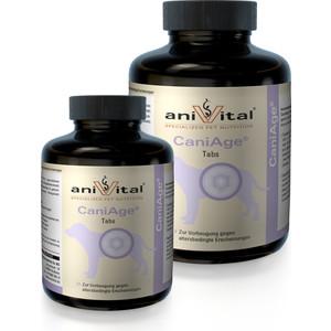 Пищевая добавка Anivital CaniAge Tabs для профилактики возрастных изменений собак 60таб/140г (523808)