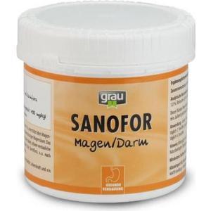 Пищевая добавка Grau Sanafor лечебная грязь для улучшения пищеварения и при проблемах извращенного аппетита для собак и кошек 500г (01083) фото