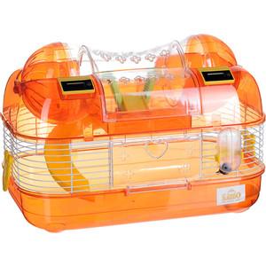 Клетка KREDO М03 из окрашенной проволоки со счетчиком в подарочной упаковке для хомяков