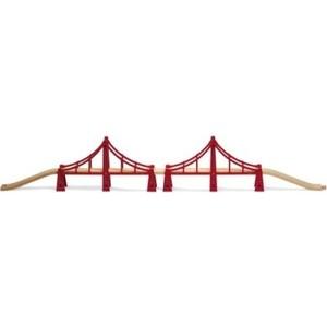 Brio Подвесной мост (двойной, 5 элементов) (33683)