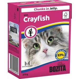 Консервы BOZITA Chunks in Jelly with Crayfish кусочки в желе с лангустом для кошек 370г (4952)