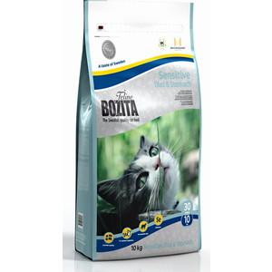 Сухой корм BOZITA Funktion Sensitive Diet & Stomah 30/10 для кошек с чувствительным пищевариением 10кг (30430) bozita funktion sensitive diet