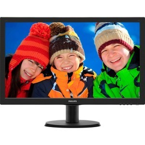 Монитор Philips 243V5QHABA монитор philips 243v5qhaba
