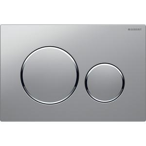 Кнопка смыва Geberit Sigma 20 матовый хром/хром (115.882.KN.1)