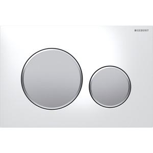 Кнопка смыва Geberit Sigma 20 белый/матовый хром (115.882.KL.1)
