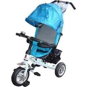 Велосипед трехколёсный Lexus Trike Next Pro (MS-0521) бело-голубой