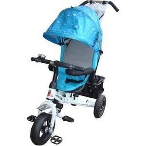 Велосипед трехколесный Lexus Trike Next Pro Air (MS-0526) бело-голубой