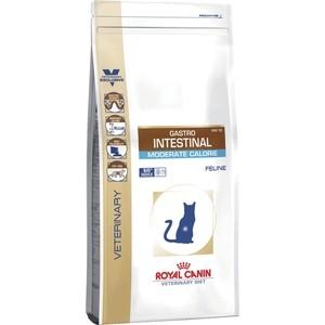 Купить Сухой корм Royal Canin Gastro Intestinal Moderate Calorie GIM35 Feline диета при панкреатите и нарушениях пищеварения для кошек 2кг (735020)