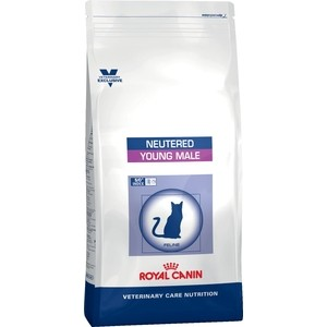 Сухой корм Royal Canin ВКН Neutered Young Male диета для кастрированных котов до 7 лет 10кг (742100)