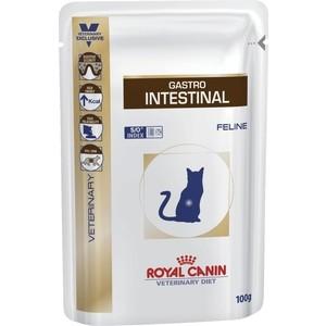 Паучи Royal Canin Gastro Intestinal Feline диета при нарушении пищеварения для кошек 100г (766001)
