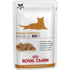 Паучи Royal Canin ВКН Senior Consult Stage 2 диета для кошек старше 7 лет с признаками старения 100г (775101)