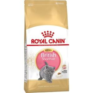Сухой корм Royal Canin Kitten British Shorthair для котят британской короткошерстной породы 2кг (541320) фото