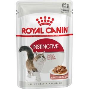 Паучи Royal Canin Instinctive кусочки в соусе для кошек 85г (482001)