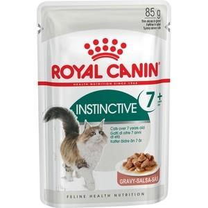 Паучи Royal Canin Instinctive 7+ кусочки в соусе для кошек старше 7 лет 85г (484001)