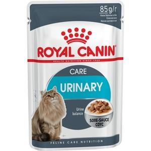 Паучи Royal Canin Urinare Care кусочки в соусе поддержание здоровья мочевыводящих путей для кошек 85г (799001)