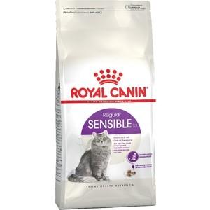 Сухой корм Royal Canin Sensible 33 для кошек чувствительной пищеварительной системой 2кг (680120)