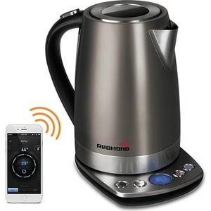 Чайник электрический Redmond RK-M173S-E, серый цена и фото