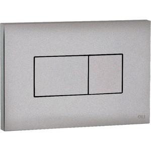 Кнопка смыва OLI Karisma пневматическая, хром матовый панель sanit пневматическая для писсуара хром матовый хром 16 064 28 0000