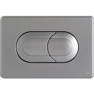 Кнопка смыва OLI Salina пневматическая, хром матовый (640086)